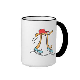 Long Running Pi - Funny Pi Guy Coffee Mug