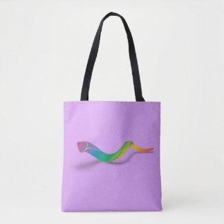 Long Shofar (rainbow) Tote Bag