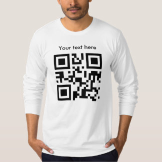 Long Sleeve, fitted (custom text) T-Shirt