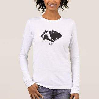 """Long Sleeve German Shorthaired Pointer """"BFF"""" Shirt"""