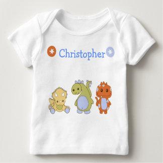 Long-sleeve infant Dino-mite T-shirt