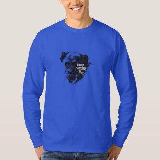 Long Sleeve men's/unisex Chimp Sanctuary NW Shirt