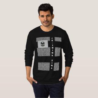 long sleeve RE-THINK ZINC T-Shirt