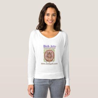 Long Sleeve Slouchy T- Birth Arts International T-shirt