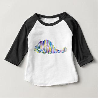 Long Sleeve Stripy Marcel the Chameleon Baby Shirt