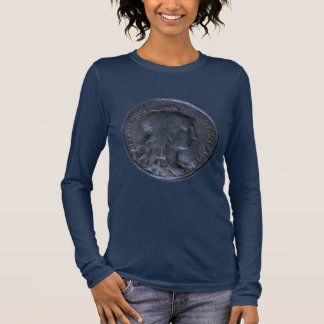 Long Sleeve T-Shirt - French Coin 10 Centimes 1913