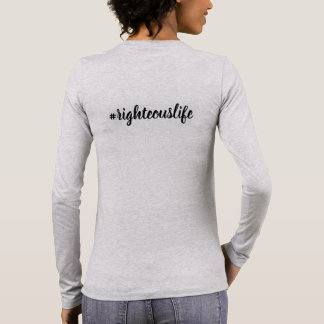 Long sleeve T-shirt the speaks for you!