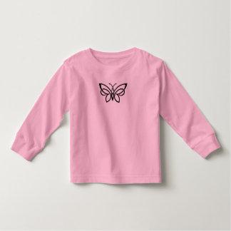 long sleeved celtic butterfly shirt
