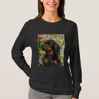 Long sleeved shirt : King charles spaniel