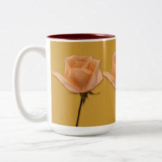 Long Stem Rose Two-Tone Mug