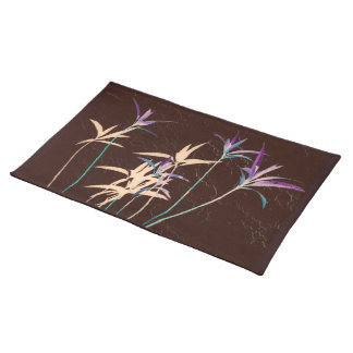 Long Stemmed Leaves Placemat