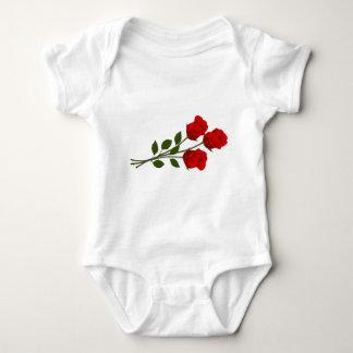 Long Stemmed Roses Baby Bodysuit