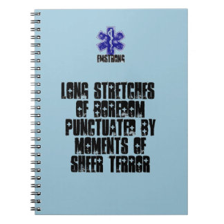 Long Stretches Of Boredom Moments Of Terror Notebook