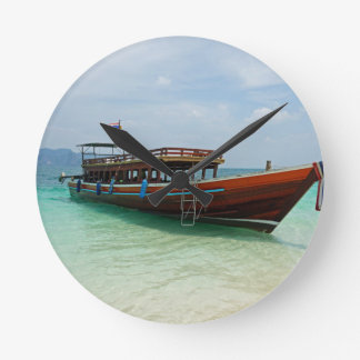 long tail boat in thailand clocks
