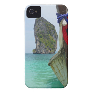 long tail boat in thailand iPhone 4 Case-Mate case