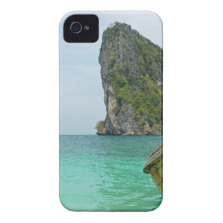 long tail boat in thailand iPhone 4 Case-Mate cases