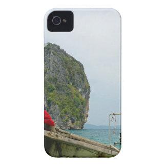long tail boat in thailand iPhone 4 cover