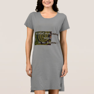 Long Tee-shirt for the day or the night Dress