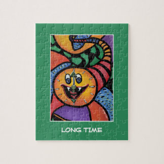 Long Time On Green - Time Pieces Jigsaw Puzzle