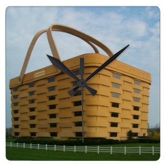 Longaberger Basket Wall Clock