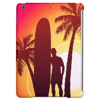 Longboard and palms case for iPad air