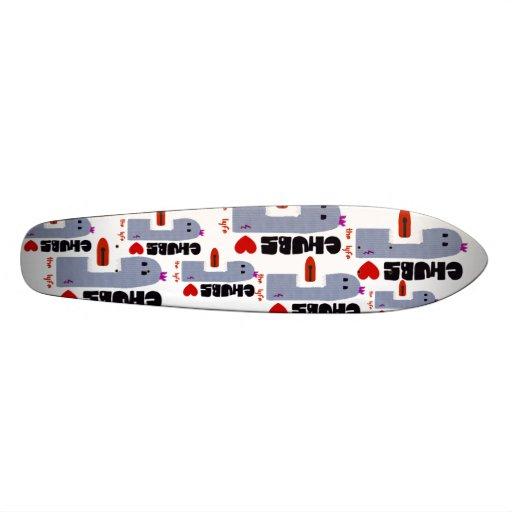 Longboard de chabots ! planche à roulette