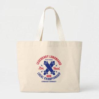 longboard large tote bag