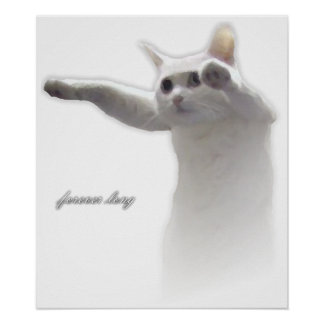 Longcat Forever Long Print