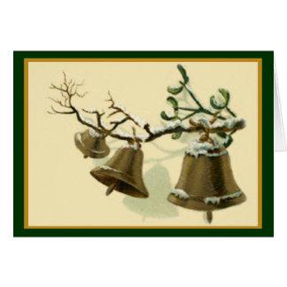Longfellow Christmas Bells Card