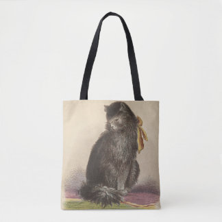 Longhair and Manx Cat Tote Bag