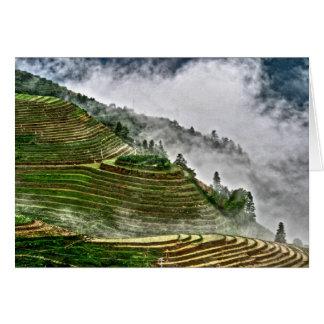 Longheng Rice Terraces Card