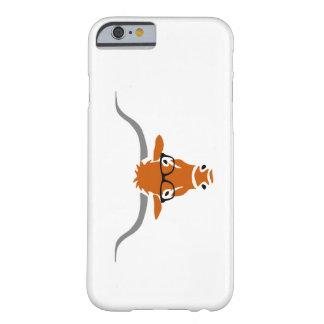 Longhorn avec des verres de hippie coque iPhone 6 barely there
