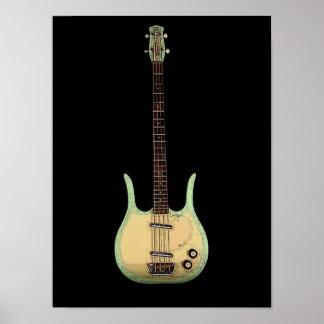 Longhorn Bass Print