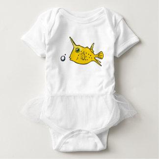 Longhorn Cowfish Baby Bodysuit