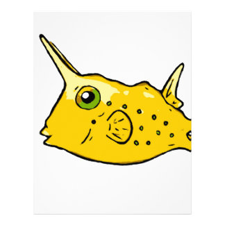 Longhorn Cowfish Letterhead