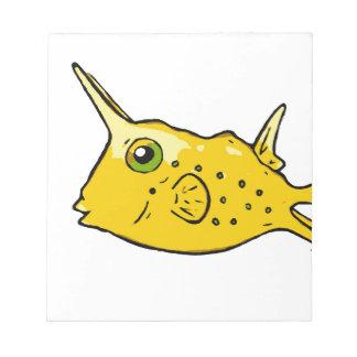 Longhorn Cowfish Notepad