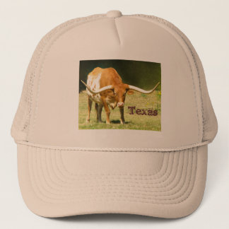 Longhorn Texas Trucker Hat