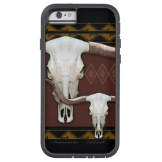 Longhorn Western Skull Tough iPhone 6 Case
