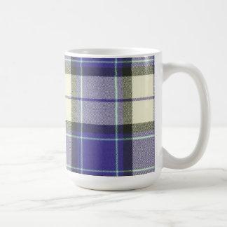 Longniddry Purple Tartan Mug