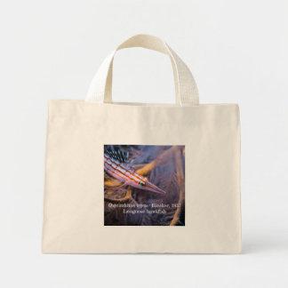 Longnose hawkfish mini tote bag
