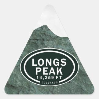 Longs Peak 14,259 FT Colorado Rocky Mountain Triangle Sticker
