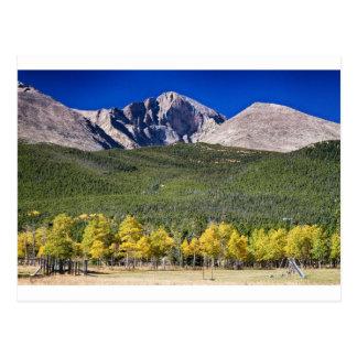 Longs Peak a Colorado Playground Postcard