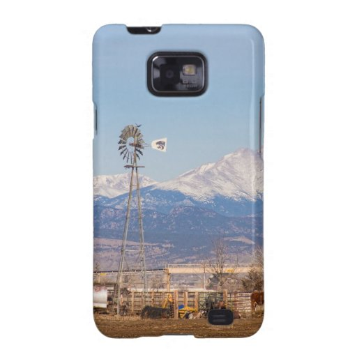 Longs Peak Rural Country Scenic View Galaxy SII Cover