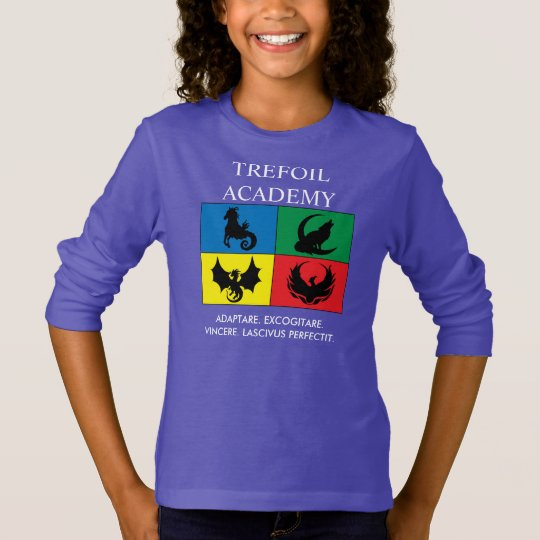 Longsleeve: Trefoil Academy with Motto in Latin T-Shirt