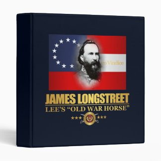 Longstreet (Southern Patriot) 3 Ring Binders