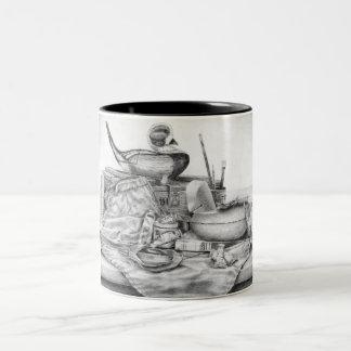 Longtail Decoy Two-Tone Mug (Lori Corbett)