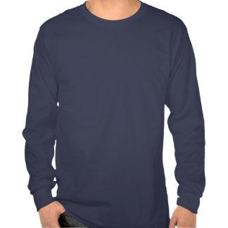 Longue chemise de la douille des hommes tribaux né t-shirt