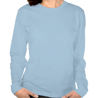 Longue chemise de tatouage de douille tatouée et t-shirt