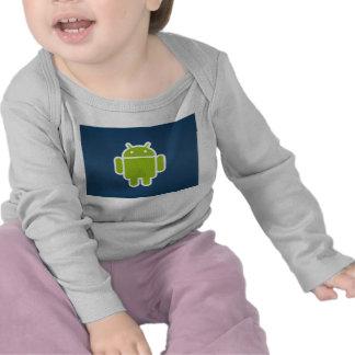 Longue douille androïde infantile courte t-shirts