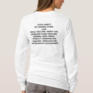 Longue douille d'élève-infirmière t-shirt